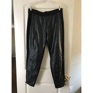 Torrid Forever 21 Plus Size Leather Moto Legging